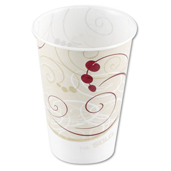 Waxed Paper Cold Cups, 7 oz.